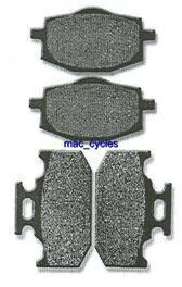 Yamaha Disc Brake Pads XT225W Serow 1993 & 1995-1996 Front & Rear (2 sets)