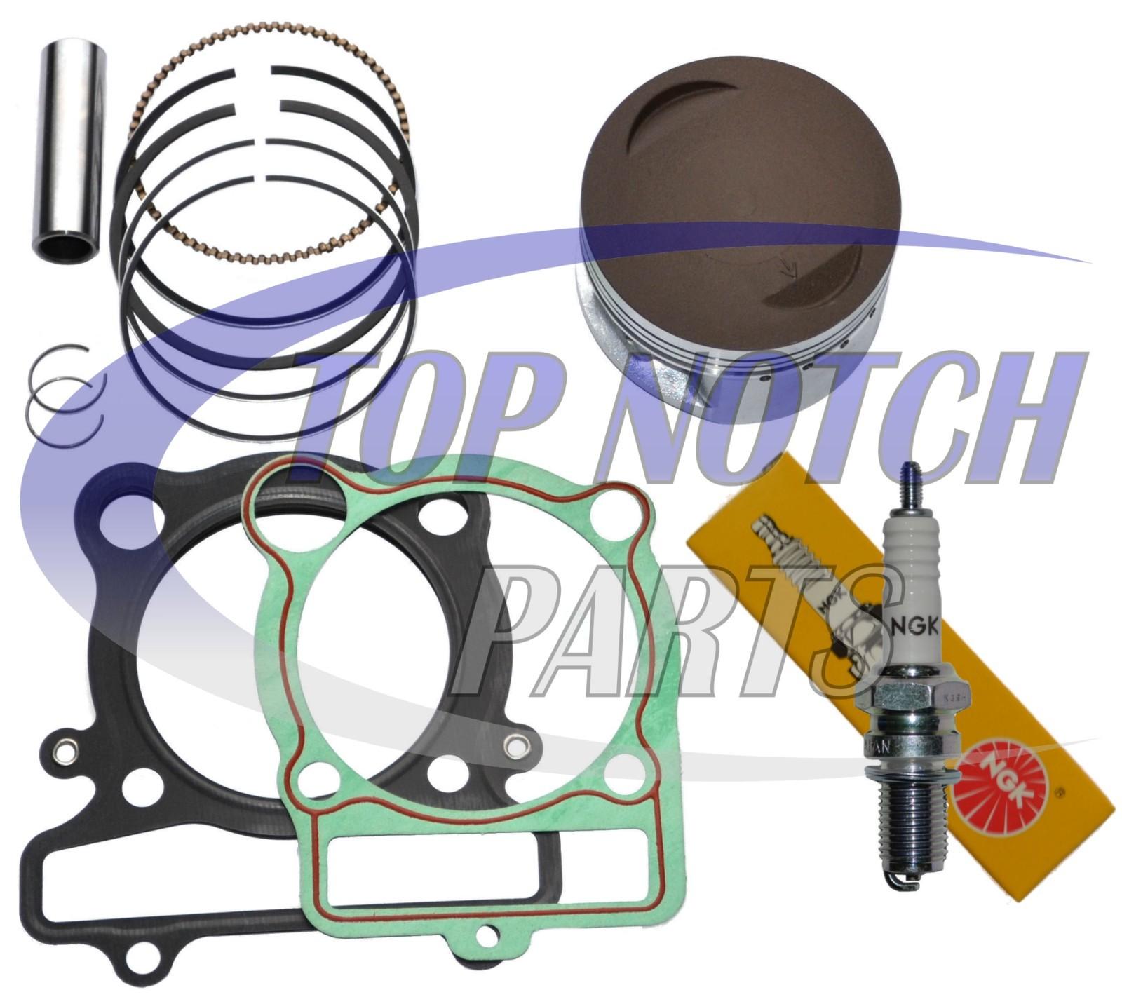 PISTON RINGS GASKET WITH SPARK PLUG KIT For YAMAHA WARRIOR 350 YFM 350 87-04