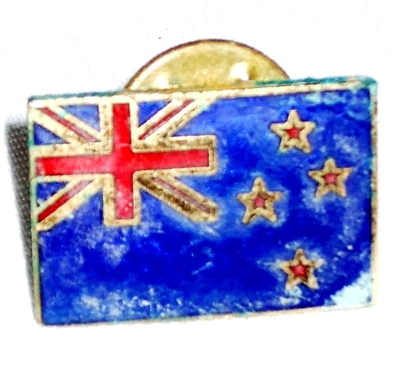Primary image for Flag of New Zealand  Lapel Pin Pinback