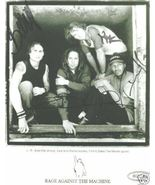 RAGE AGAINST THE MACHINE SIGNED AUTOGRAPHED RP PHOTO - $13.99