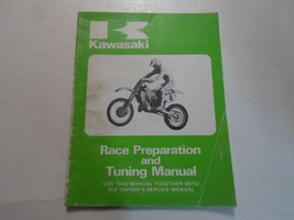 1985 Kawasaki KX125 250 500 Race Preparation & Tuning Manual x FACTORY OEM 85 - $59.35