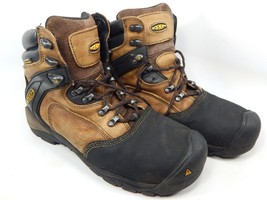 "Keen Louisville 6"" Sz 10.5 M (D) EU 44 Mens Steel Toe Utility Work Boots 1007965"