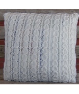 original designed and hand knitted pillow sham ... - $40.00