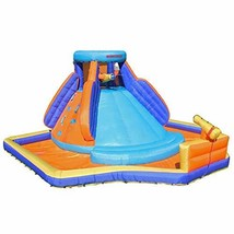 Sportspower Battle Ridge Inflatable Water Slide with Water Cannons and C... - $372.43