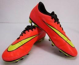 NIKE Hypervenom Phade FG Soccer Shoes Total Crimson Punch 599809-690 Men's US 12 - $38.08