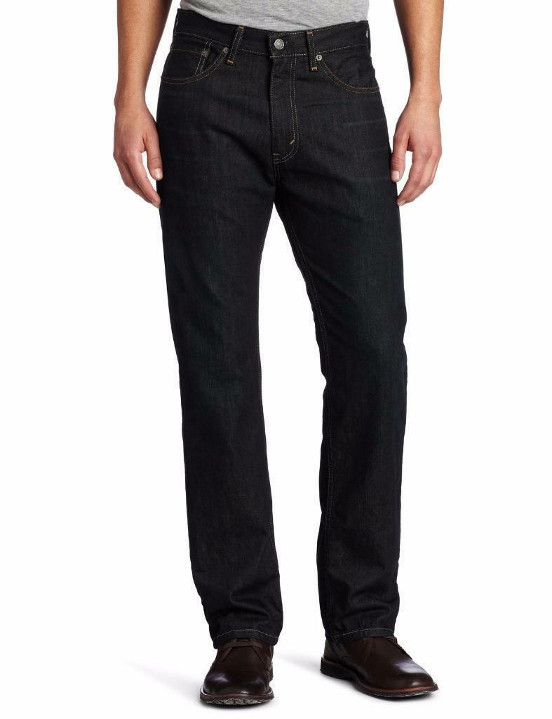 NEW LEVI'S STRAUSS 505 MEN'S ORIGINAL STRAIGHT LEG FUME JEANS PANTS 505-0550