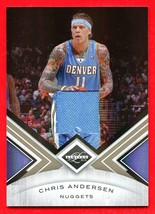 2010/11 Panini Limited Chris Andersen Jersey Swatch Card 199/199 Nuggets - $14.84