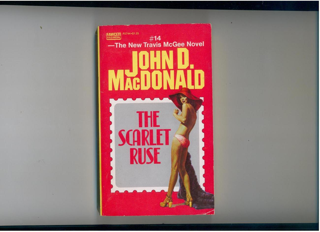 MacDonald--THE SCARLET RUSE--1973--1st printing-T. McGee #14