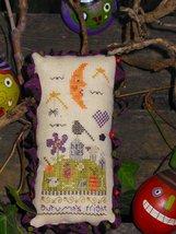 Autumn's Fright Pin Cushion kit halloween cross stitch kit Shepherd's Bush - $20.00
