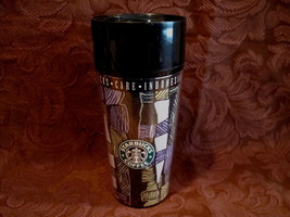 Starbucks Coffee Travel Mug Cup Tumbler Indonesia Collectible Thermo Serv - $12.99