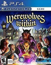 Werewolves Within (Sony PlayStation 4, 2016 New) PS4 VR - $15.88