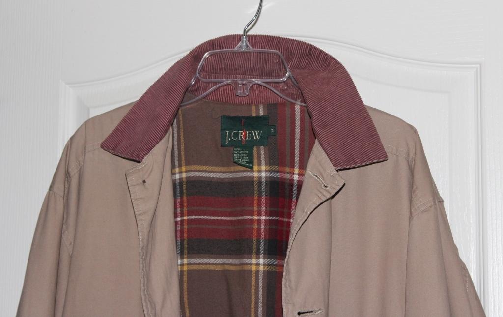 J. Crew Men's Khaki Field Jacket  Size Medium