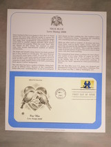 STAMPS - FIRST DAY COVER, ENVELOPE & CACHET - LOT OF THREE - (sku#2015) - $14.99
