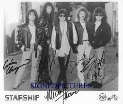 STARSHIP GROUP BAND SIGNED RP PHOTO MICKEY THOMAS + - $13.99