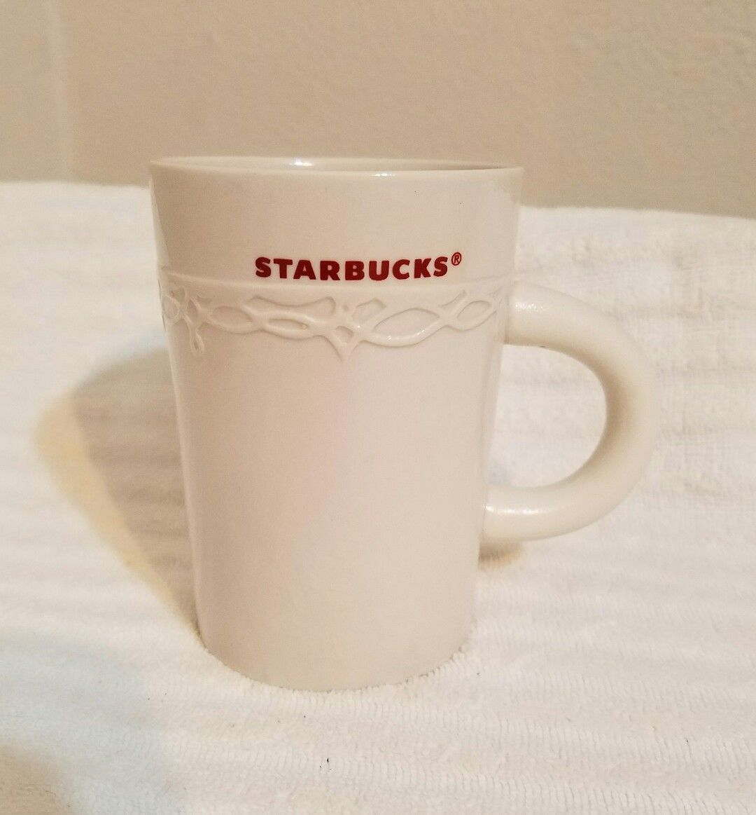 2010 50 With Starbucks Similar White And Coffee Mugcup Red shtdQrCx