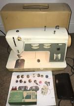 Vtg 1970's Singer Sewing Machine Stylist Zig-Zag Model 774 Case Accessories - $93.50