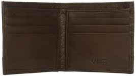 Guess by Marciano Men's Leather Billfold Zipper Coin Pocket Wallet 31GU130027 image 5