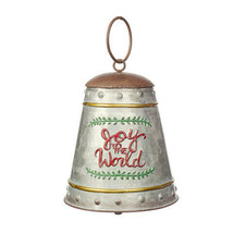 Darice Christmas Joy to the World Christmas Bell Ornament: 5.75 x 10 inc... - $13.99
