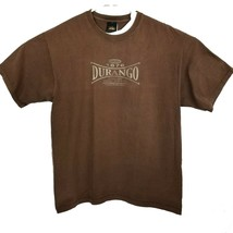 Prairie Mountain Brown Durango Colorado T Shirt Size XL Cotton EUC - $16.65