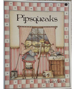 Pipsqueaks By Kathi Walters Pen & Ink Watercolor Wood Tole Painting Book... - $6.98