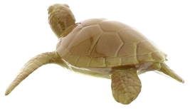 Hagen-Renaker Miniature Ceramic Turtle Figurine Sea Tortoise Swimming image 3