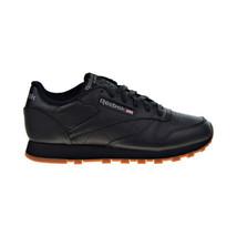 Reebok Classic Leather Women's Shoes Black-Gum 49802 - $75.00