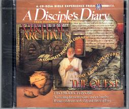 A Disciple's Diary From Nazareth - Jerusalem - Complete Resource  PC Softwar - $4.00