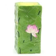 Vintage Ceramic Candle Holder Pottery candlestick Porcelain candle holder - $39.00