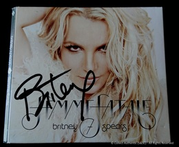Britney Spears Autographed Femme Fatale Music CD - $249.00