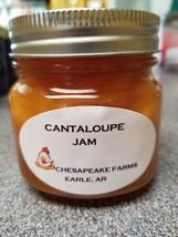 Cantaloupe Jam 4 Oz Size Arkansas Grown/Made Organic Great Gift Idea - $3.00