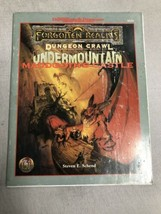 Undermountain Maddgoth's Castle Forgotten Realms Dungeons & Dragons Ad&D 9528 -1 - $35.63
