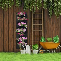 Vertical Garden Hanging Pocket Wall Planters 2 Pack with Bonus Plant Tags image 2