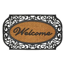 #10017419 *Scrollwork Grid Border Welcome Mat* - $23.34