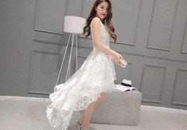 High low party Dress  at Bling Brides Bouquet online bridal store image 5