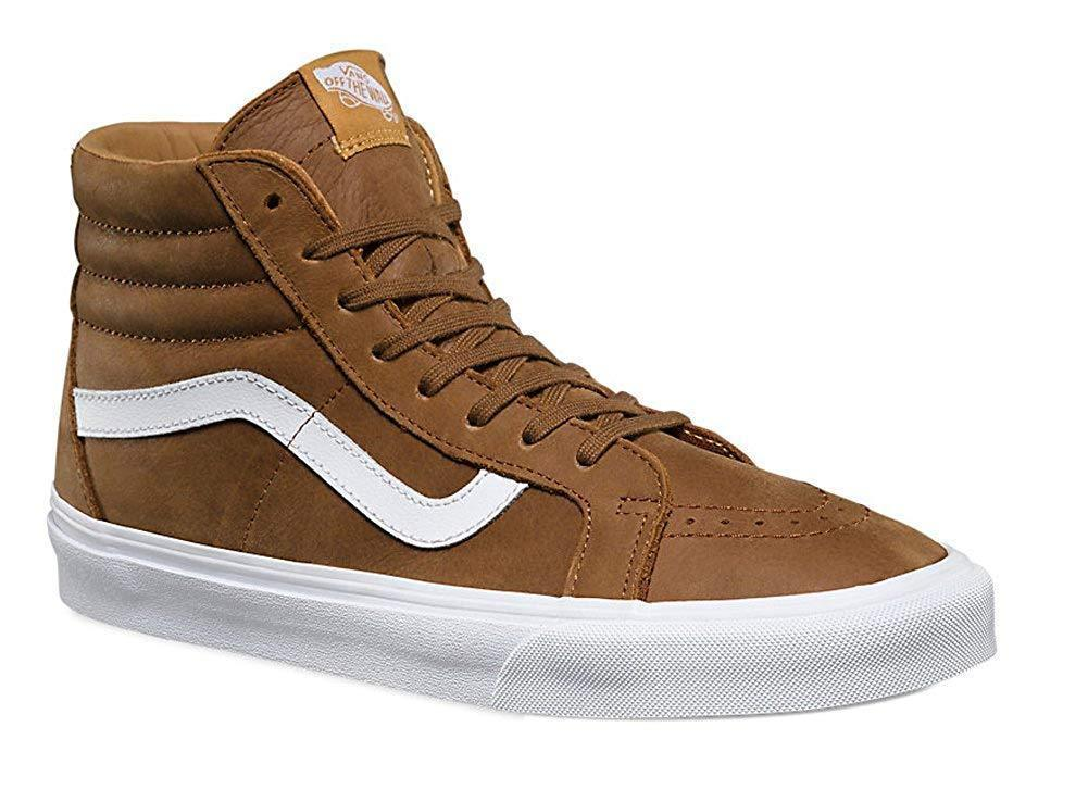 a3967be5a339 S l1600. S l1600. Previous. Vans Sk8-Hi Reissue Premium Leather Dachshund Skate  Shoes Mens 6.5-13 BROWN NEW