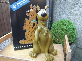 Extremely Rare! Hanna Barbara Scooby Doo Good Boy Big Figurine Statue - $303.56