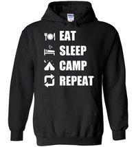 Eat Sleep Camp Repeat Blend Hoodie - $32.99+