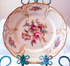 Rosenthal Textured Dinner Plate with Gold Trim - $24.75