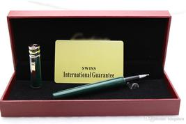 Ct pen sets Limited edition series Black Color Golden Clip Roller Ball Pen for w - $53.99