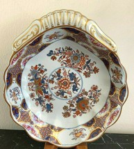 Antique Spode Shell Shape Bowl Chinoiserie Decoration - $119.00