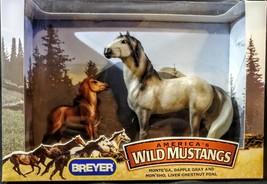 Breyer Classic America's Wild Mustangs No 750204 Monte'Ga & Mon'Sho NIB ... - $34.64