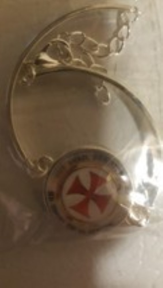 Primary image for Knights Templar Red Cross Christian Bracelet
