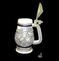 Stein with Lid Handcrafted in Brazil AB 635 Vintage image 3