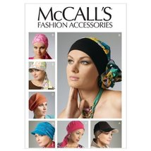 McCall's Patterns M6521 Headband, Head Wraps and Hats, All Sizes - $14.21
