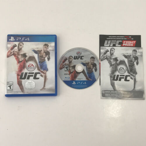 EA Sports UFC Game (Sony PlayStation 4, 2014) PS4 Complete in Box - $6.93