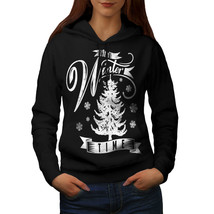 Winter Time Christmas Sweatshirt Hoody Frozen Women Hoodie - $21.99+