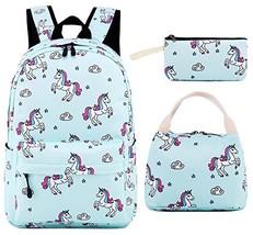 School Backpack for Girls Teens Bookbag Cute School Bag Set Water Resist... - $56.95 CAD