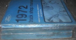 1972 Ford F100 250 350 Bronco Truck Trucks Service Shop Repair Manual Set Oem X - $158.35