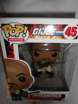 Pop! Funko Animation GI Joe #45 Roadblock vinyl figure NIB Kids 4 Easter... - $8.90