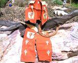 Leather kids chap vest sets 010.4 thumb155 crop